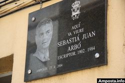 Reivindicar la figura de Sebastià Juan Arbó