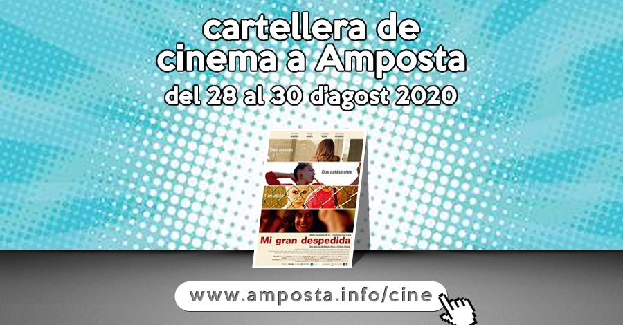 Cartellera de cinema a Amposta