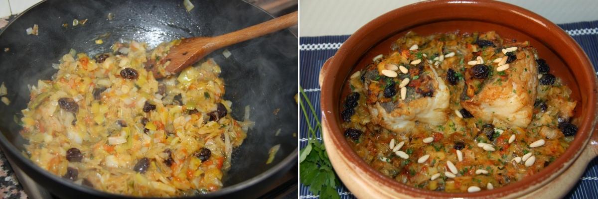 La recepta: Abadejo amb porros i cebes tendres | Amposta.info