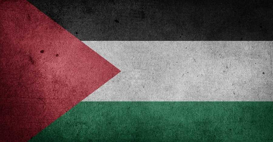 Acte a la ciutat d'Amposta del portaveu del Front Popular per l'Alliberament de Palestina a Europa