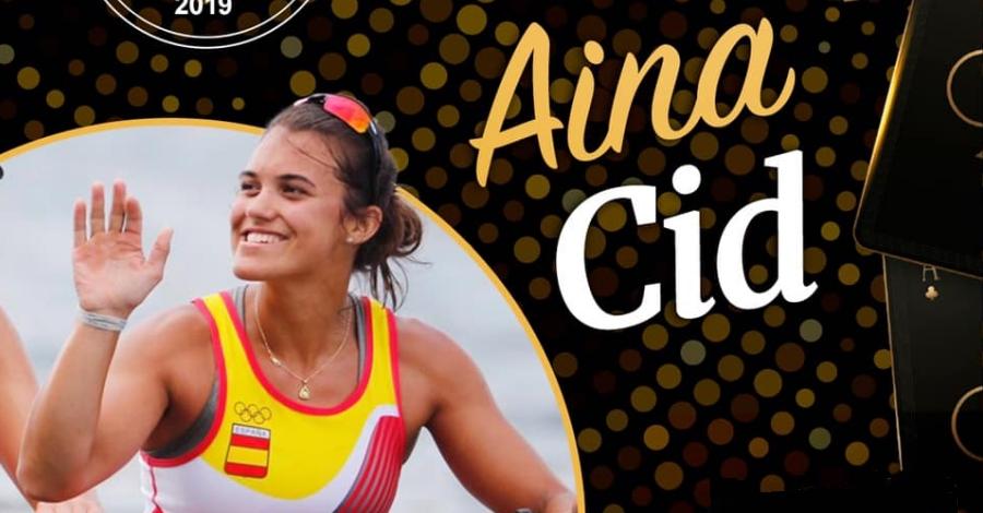 Aina Cid, Millor Esportista Femenina als Premis Admiral