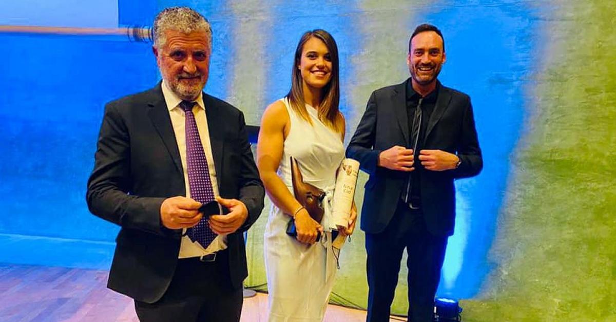Aina Cid recull el guardó de millor esportista catalana del 2020