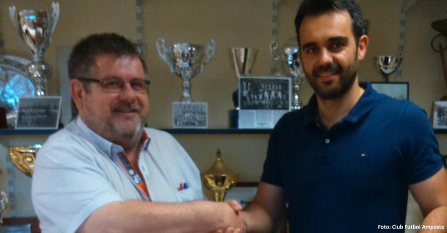Nou entrenador per al Club Futbol Amposta