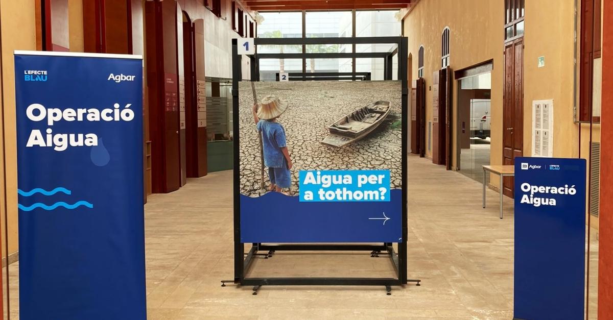 """Amposta acull l'exposició """"Operació Aigua"""" d'Agbar per conscienciar sobre la disponibilitat dels recursos hídrics"""