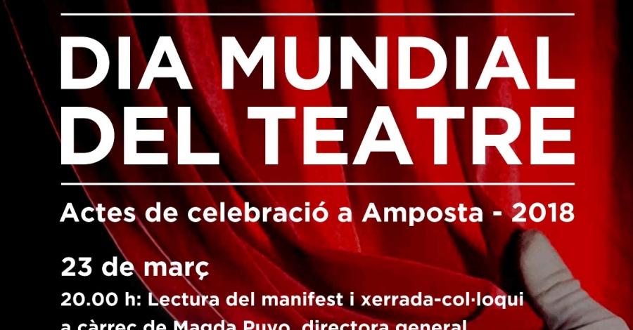 Amposta celebra el Dia Mundial del Teatre