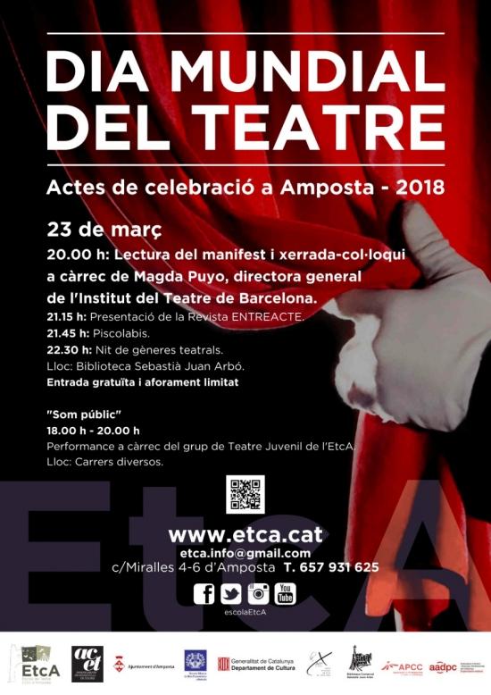 Amposta celebra el Dia Mundial del Teatre   Amposta.info