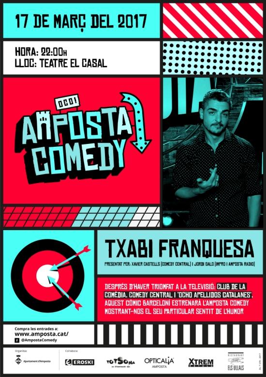 Temporada de Teatre i Dansa Amposta 2017. Amposta Comedy