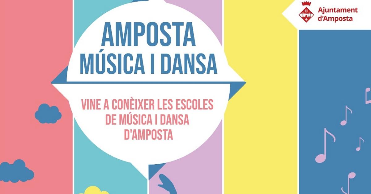 Amposta música i dansa. Vine a conèixer les escoles de música i dansa d'Amposta