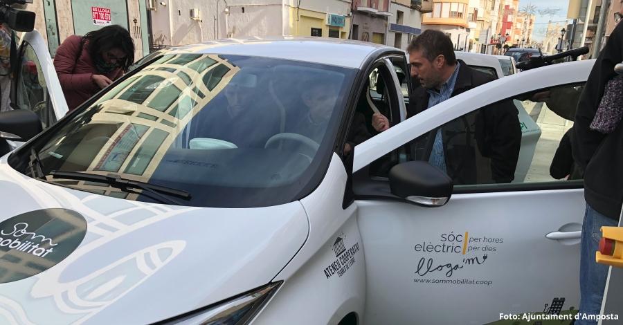 Amposta, pionera amb l'ús del vehicle elèctric compartit  | Amposta.info