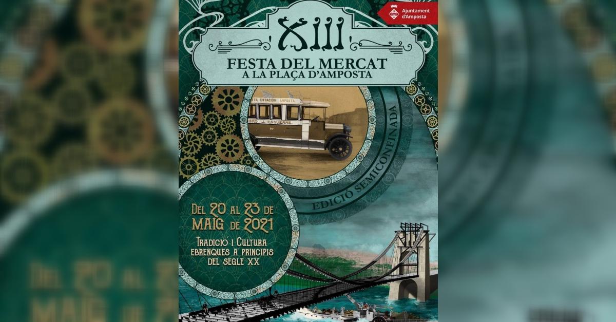 XIII Festa del Mercat a la Plaça - semiconfinada