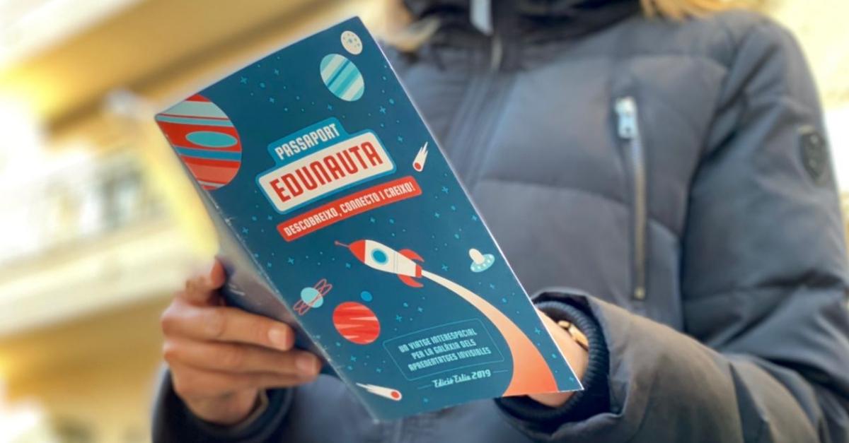 Segella el teu passaport Edunauta fent préstec de llibres a la biblioteca