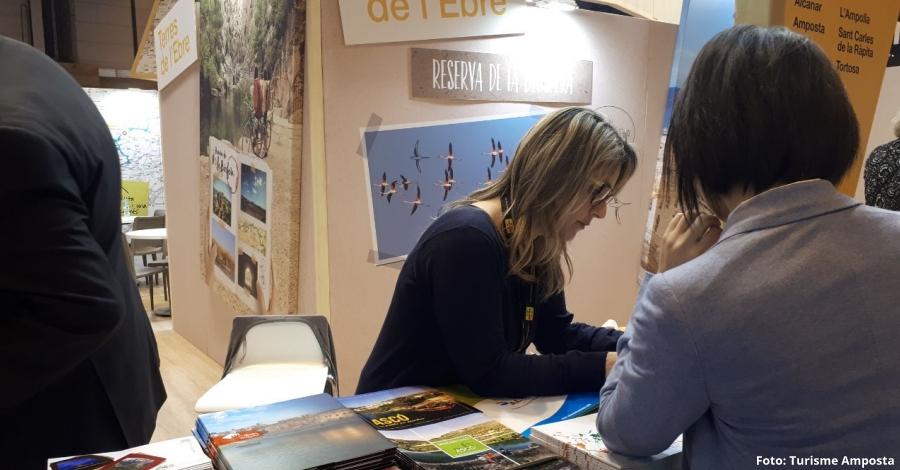 Amposta promociona el patrimoni cultural material i immaterial de la ciutat a Fitur | Amposta.info