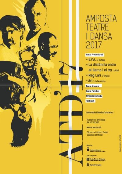 Es presenta la programació 2017 de l'Amposta Teatre i Dansa  | Amposta.info