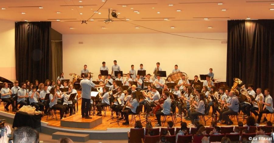 Més de 125 alumnes participaran en les 8es Colònies Musicals de la Fila