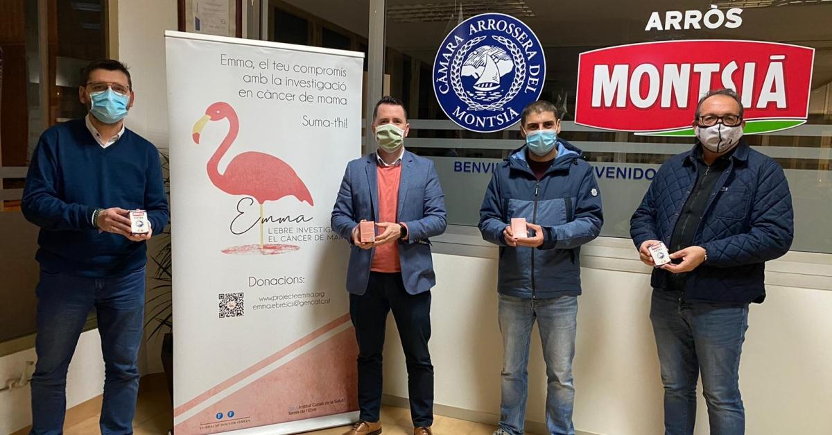 Arròs Montsià porta a les taules de Terres de l'Ebre el projecte Emma, d'investigació en càncer de mama
