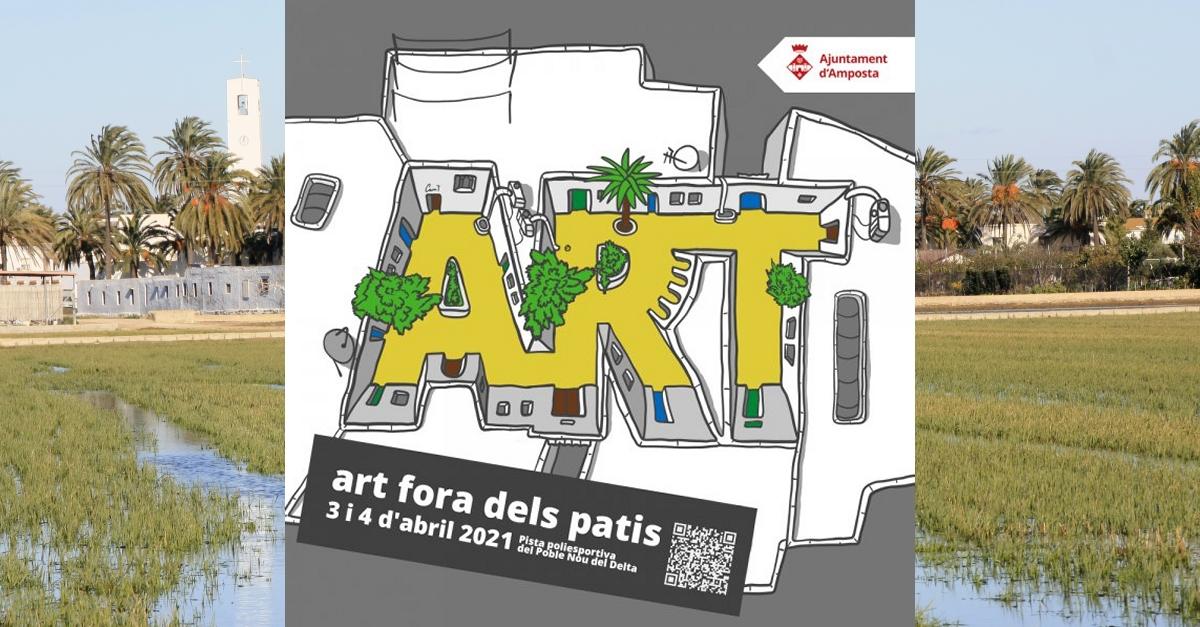 L'art surt dels patis del Poble Nou | Amposta.info