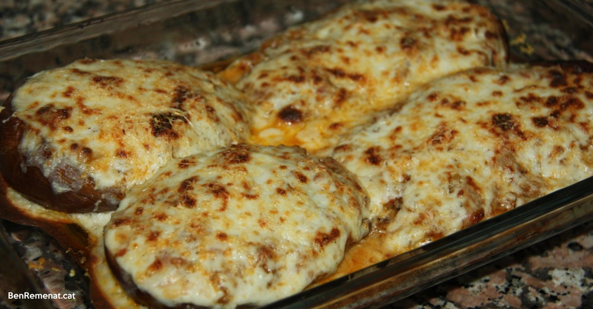 La recepta: Aubergínies farcides | Amposta.info