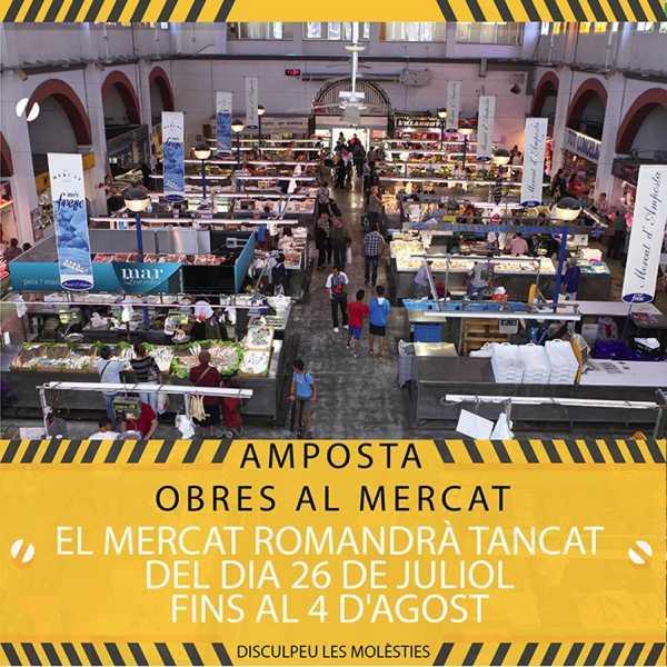 El Mercat Municipal tancarà uns dies per obres de millores | Amposta.info