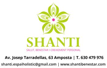 SHANTI - Tel. 630479976 - 877013270 - Av. Josep Tarradellas, 63 (Amposta)