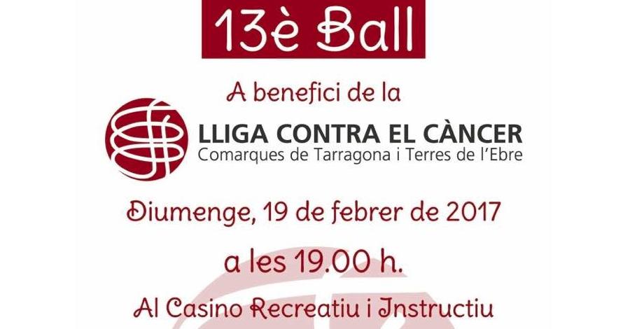 13è Ball a benefici de la Lliga Contra el Càncer