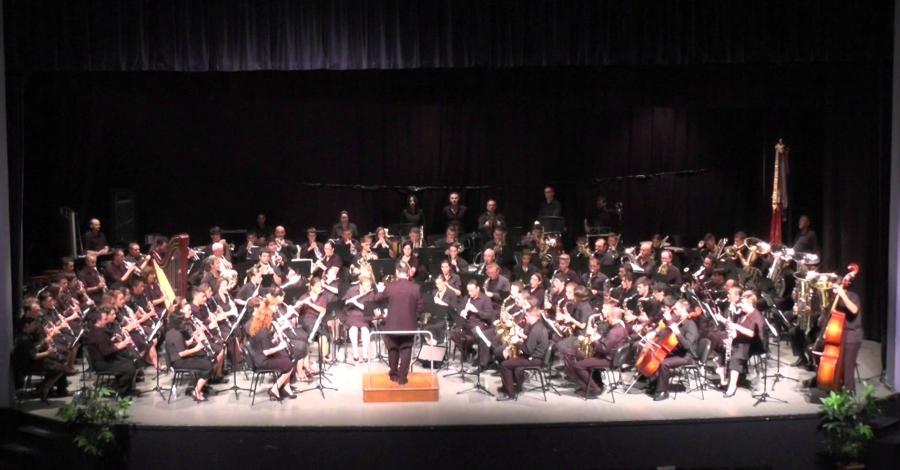 17a edició Amposta de Banda a Banda: Banda de la Societat Musical la Lira Ampostina