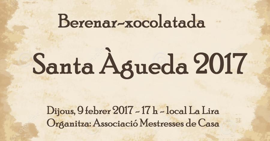 Berenar-xocolatada de Santa Àgueda