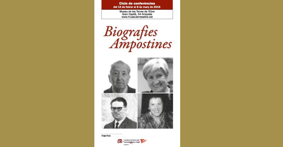 "Cicle de conferències Biografies ampostines: ""Mario López Albiol"""
