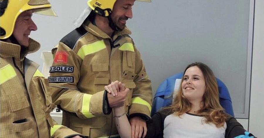La Campanya «Els bombers t'acompanyen a donar sang» arriba avui a Amposta