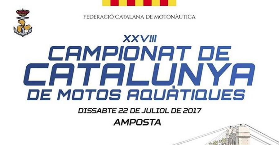 XXVII Campionat de Catalunya de motos aquàtiques