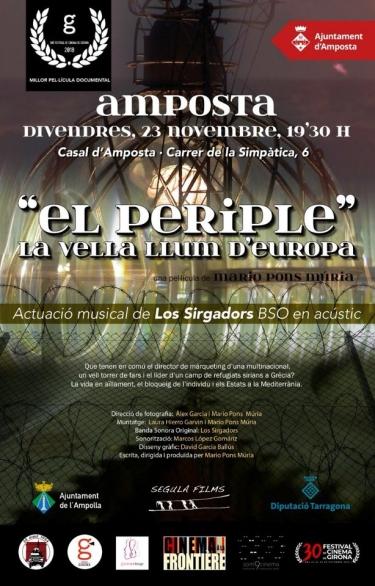 El Casal acull la projecció del documental «El Periple. La vella llum d'Europa»   Amposta.info
