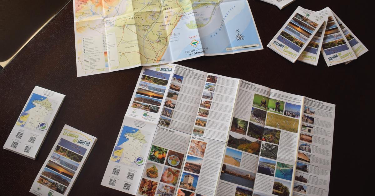 El Consell Comarcal del Montsià elabora un fulletó turístic per promoure el turisme a la comarca | Amposta.info