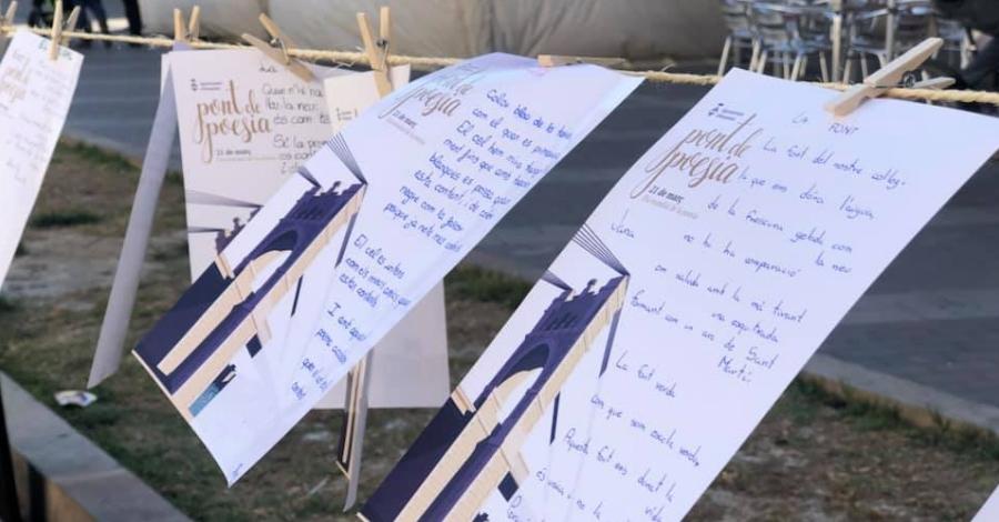 Amposta celebra el Dia Mundial de la Poesia