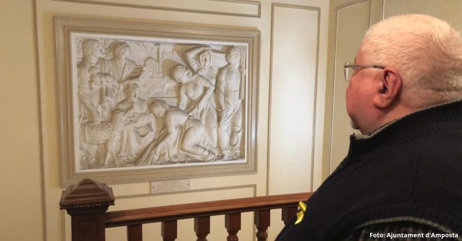 La família de Soriano-Montagut cedeix en dipòsit 62 obres del fons escultòric de l'escultor | Amposta.info