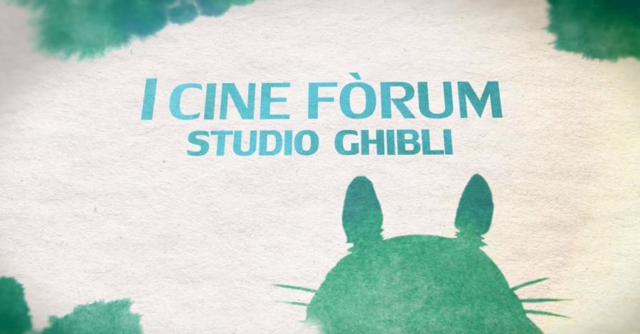 I Cine Fòrum Studio Ghibli - La princesa Mononoke