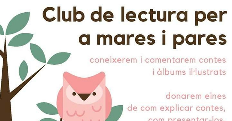 Club de lectura per a pares i mares