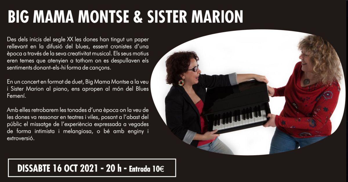 27è Cicle de Música Ciutat d'Amposta: Big Mama & Sister Marion