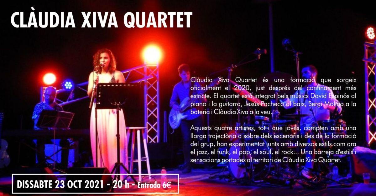 27è Cicle de Música Ciutat d'Amposta: Clàudia Xiva Quartet
