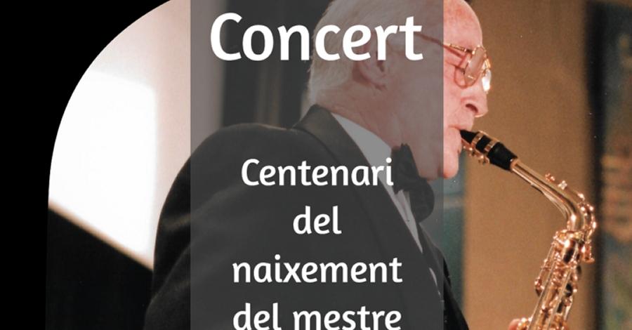 Concert dedicat al «Centenari del naixement del Mestre Adolf Ventas Rodríguez (1919-2019)»