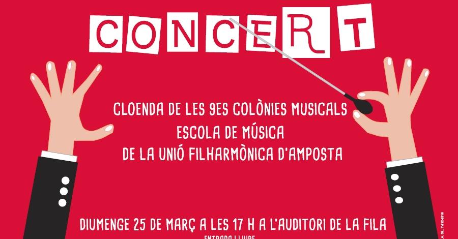 Concert de cloenda de les 9enes Colònies Musicals