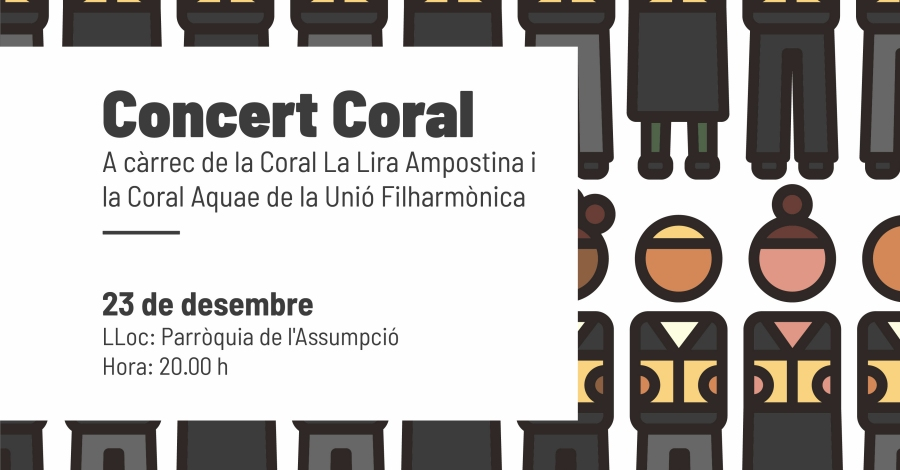 Concert Coral de Nadal