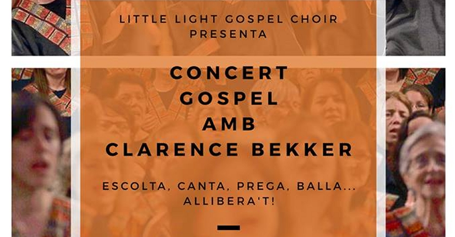 Concert Gospel amb Clarence Bekker