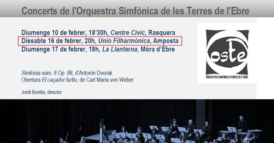 Concert d'Hivern de l'Orquestra Simfònica de les Terres de l'Ebre