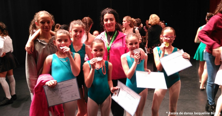 L'Escola de Dansa Jacqueline Biosca participa en el Concurs Nacional de Dansa Anaprode
