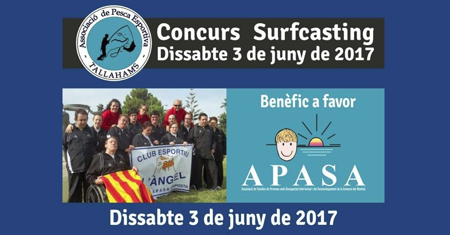 Concurs Surfcasting benèfic a favor Apasa