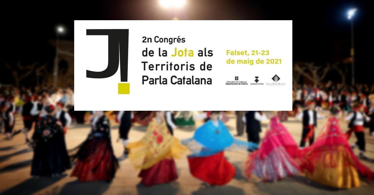 Falset acollirà el 2n Congrés de la Jota als Territoris de Parla Catalana els propers 21, 22 i 23 de maig