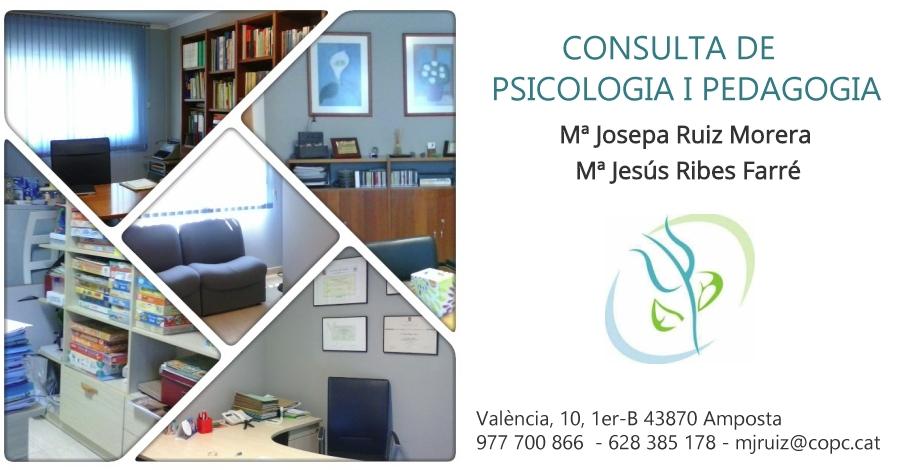 Consulta de psicologia i pedagogia RUIZ-RIBES