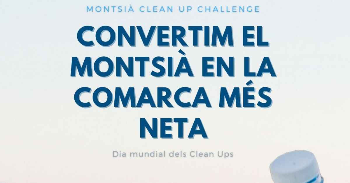 Deu municipis del Montsià organitzen accions de neteja simultànies en el dia Mundial del Clean Up Challenge