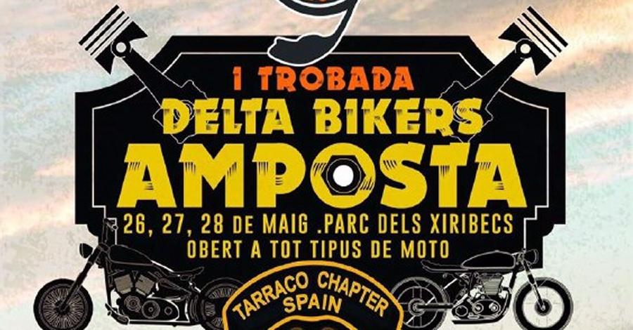 Amposta es prepara per al Delta Bikers, la primera concentració de motos a la ciutat