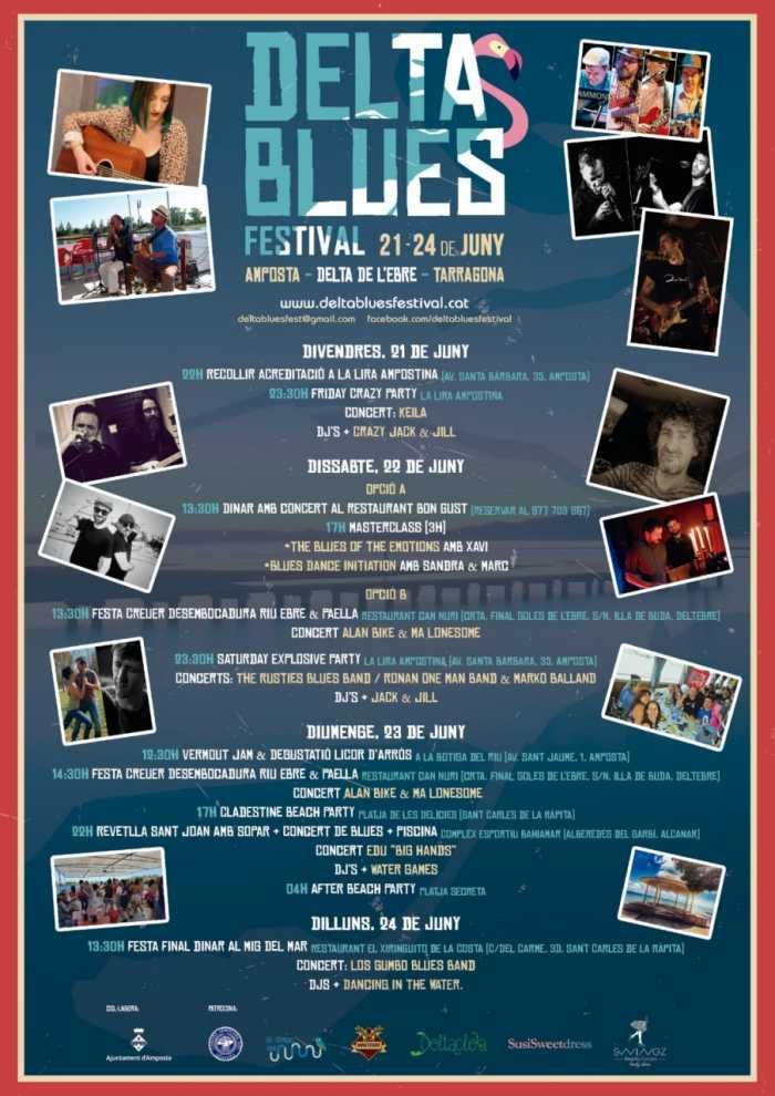 Cap de setmana de música i cultura al Delta Blues Festival | Amposta.info