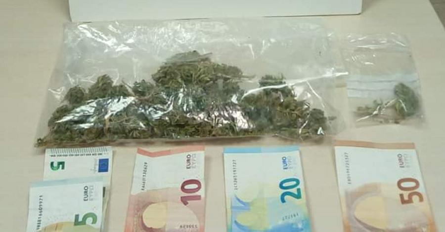 Un detingut com a presumpte autor d'un delicte de tràfic de drogues